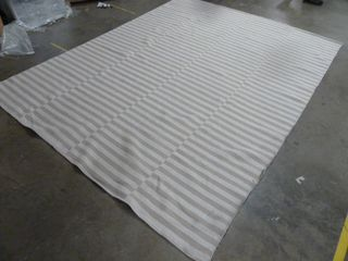 8  x 10  Striped Area Rug