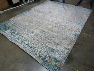 9  x 12  Distressed Area Rug