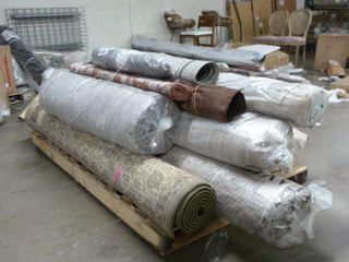 Double Wide Pallet of Area Rugs