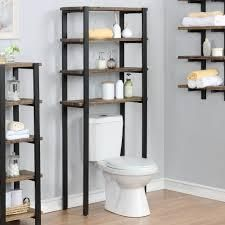 Carbon loft lawrence 65 inch Over the Toilet 4 shelf Bath Storage Retail 209 99