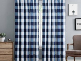 Truly Soft Everyday Buffalo Check Printed Window Curtain