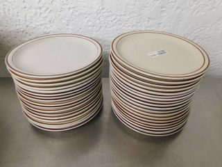 Set of 10 5 Inch Plates