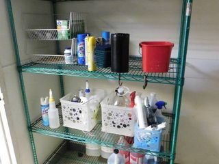 Eagle Wire Shelf and Contents