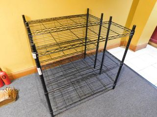Set of Two Wire Shelves