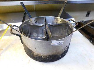 large Aluminum Pasta Cooker