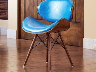 Corvus Madonna Mid Century Teal Accent Chair