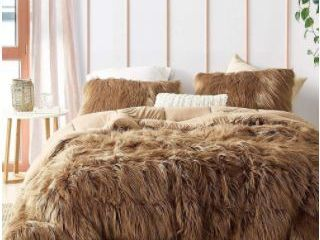 Grizzly Bear   Coma Inducer Oversized Comforter   Toasted Coconut  Shams Not Included