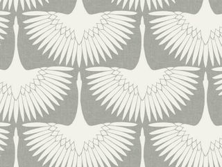 Chalk Feather Flock Peel and Stick Wallpaper