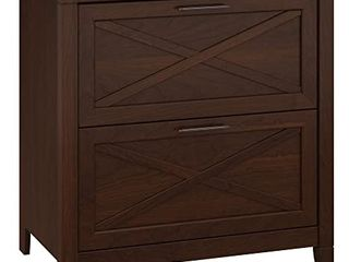 The Gray Barn Hatfield 2 Drawer lateral File Cabinet   Bing Cherry Finish  Model   KWF130BC 03