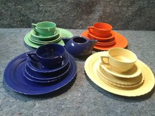 Vintage Tableware Set
