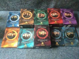 Stargate SG 1 Seasons 1 10 on DVD