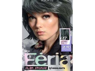 loreal Paris Feria Permanent Hair Color 617 Vintage Teal
