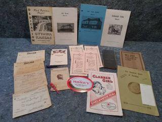 Antique and Vintage Ottawa and Surrounding Kansas Historical Memoribelia