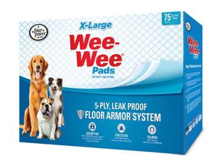 Four Paws Xl Wee Wee Pads  28 x 34 in  75 Count