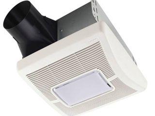 Broan A70l Invent Single Speed Ventilation Fan with Incandescent light  70 CFM  2 0 Sones
