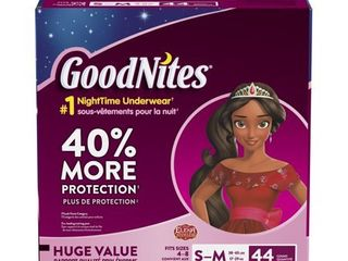 GoodNites Girls  Underwear