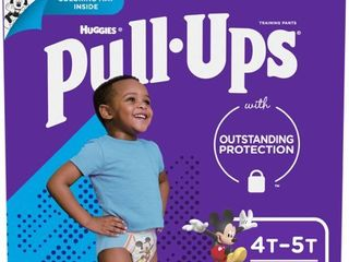 Pull Ups Boys  learning Designs Training Pants  4T 5T  74 Ct