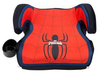 Kids Embrace Marvel Spider Man Backless Booster Car Seat