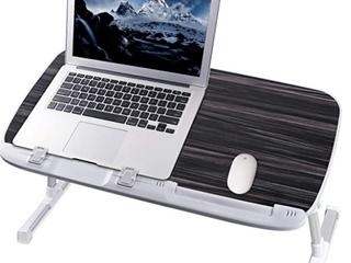 Nearpou   Multifunctional laptop Desk   17  laptop or Smaller   Gray Black