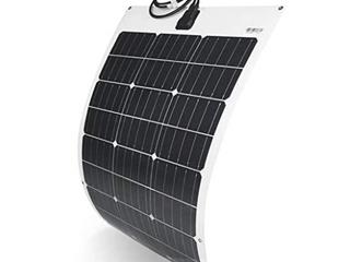 TP  Solar   100W Semi Flexible Monochrystalline Silicon Solar Panel