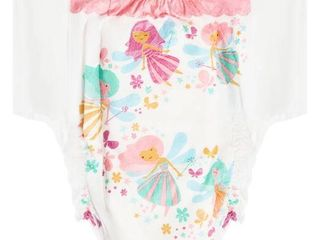 Toddler Girl s The Honest Company Fairies Training Pants  Size 3 4T   White