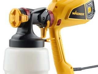 Wagner 0520008 WagnerAr Control Painter 6 PSI Plastic HVlP Sprayer   powers on