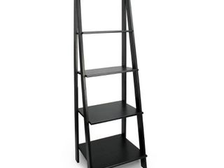 ADEPTUS SPlIT 5 SHElF lADDER UNIT   BlACK