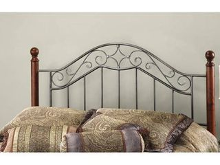 Martino King Headboard w  standard bolt on frame only wood ends not included