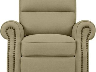 Copper Grove Jessie Tan linen Push Back Recliner Chair   Retail 428 49