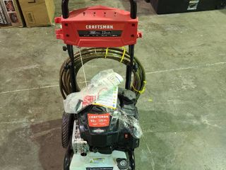 Craftsman 2800 PSI 163 cc Power Washer   powers up as  is