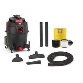 Shop Vac 14 Gallon 5 5 Peak HP Shop Vacuum   missing feet powers on as is