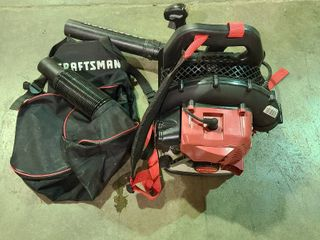 Craftsman Back Pack Blower 46cc   Condition Unknown   As  Is