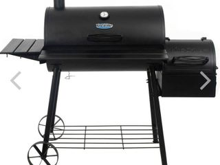 King Grillera Smokin  Acea Charcoal Grill 30 Inch   as  is open box