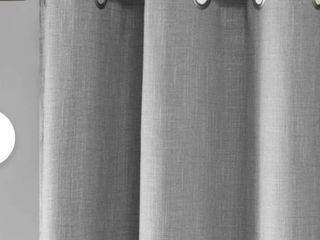 Silja Heathered Patio Solid Blackout Grommet Single Curtain Panel