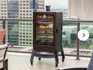 Pit Boss Electric Smoker Pro Series 3 5 can  as   is