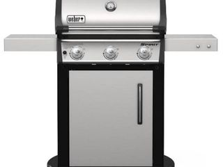 Weber Spirit S 315 lP Gas Grill  Stainless Steel   as is see below