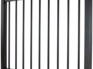 Aluminum Gate with Round Balusters   36