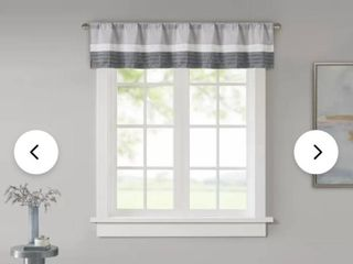 liesel Pintuck 50  Window Valance   set of 2