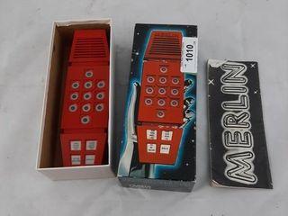 Vintage Merlin Game