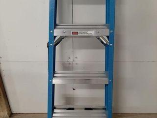 Werner 4ft Fiberglass ladder