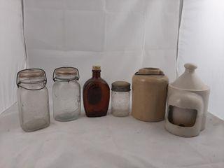 Jars  Crock  Etc