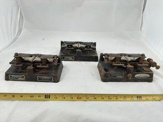 Griswold File Splicer 2 Model R 2 And 1 Model T