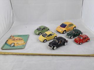 Volkswagen Beatles Collector Pieces