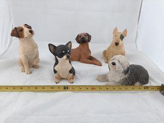 Cute Puppy Figurines