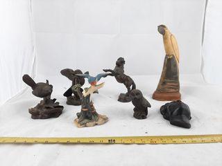 Figurine lot