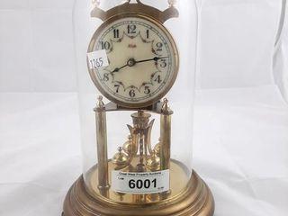 Kundo Glass Dome Anniversary Clock