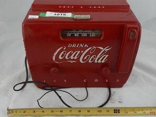 Coca Cola Vintage Radio