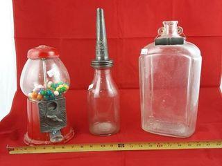 Gum Ball Machine  Imperial Marvelube Motor Pil