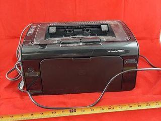 Hp laserjet P1102w Printer  Turns On