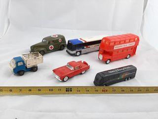 Toy lot Including Greyhound Bus  Niagara Falls